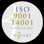 KvalitetsGruppen är certifierade enligt ISO 9001 och ISO 14001.